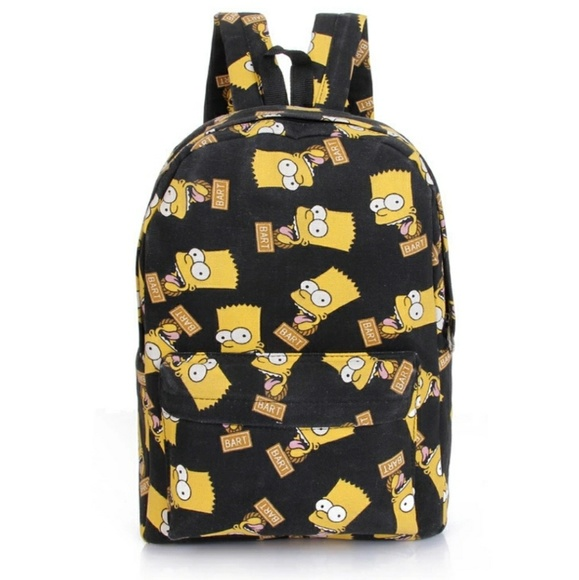 Handbags - Bart Simpson backpack 86b16dda89ca9
